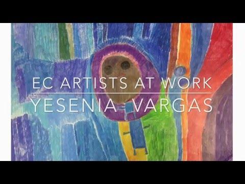 EC Artists At Work: Yesenia Vargas