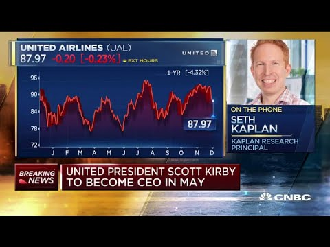 One Of Outgoing United CEO Munoz's Best Decisions Was Hiring Scott Kirby, Says Analyst
