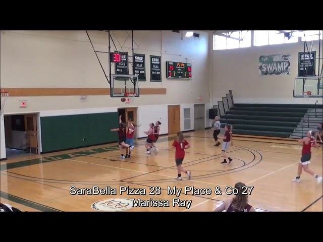 Game Highlights Girls College: SaraBella Pizza vs My Place & Co