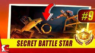 Fortnite | WEEK 9 Secret Battle Star Location (Season 8 Battle Star Discovery Loading Screens)