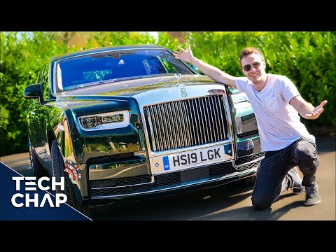 The Most LUXURIOUS Car in the World! [$600K Rolls Royce Phantom VIII] | The Tech Chap