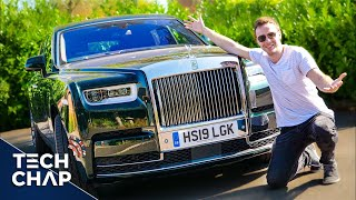 The Most LUXURIOUS Car in the World! 600K Rolls Royce Phantom VIII The Tech Chap