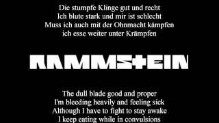 Rammstein - Mein Teil (Lyrics with English Translation)
