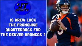 Drew Lock Is The Franchise Quarterback For The Denver Broncos | NFL