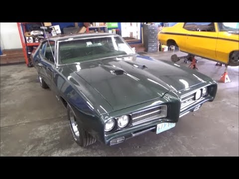 1969 Pontiac GTO Muscle Car Tune Up