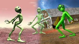 ANGRY GRANDPA - Scary Green Grandpa Alien Full Gameplay ( New Update ) # 01