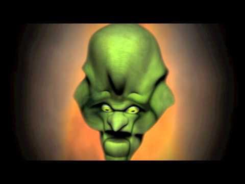 CGI WIZARD OF  OZ HEAD
