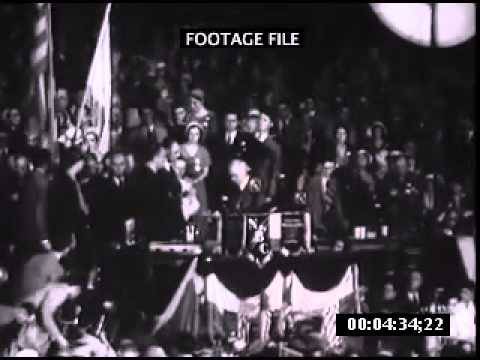 Franklin Roosevelt Democratic Convention 1932
