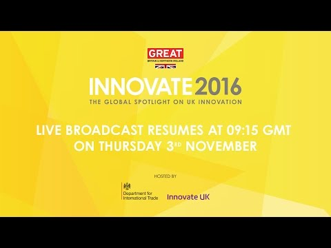 Innovate UK Live Stream