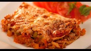 Лазанья с индейкой | Правило тарелки