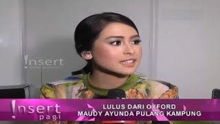 Video AMAZING!!! Maudy Ayunda Lulus Dari OXFORD University Dengan Cumlaude,  ~ Gosip Terbaru 2 Juli 2016 download MP3, 3GP, MP4, WEBM, AVI, FLV Juli 2018