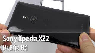 Sony Xperia XZ2 Unboxing (Sony 2018 Flagship, With 4K HDR Filming)