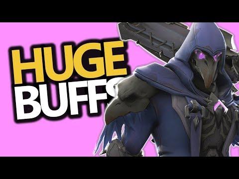 HUGE Reaper & McCree BUFFS! Roadhog NERF! (Overwatch News) PTR Patch
