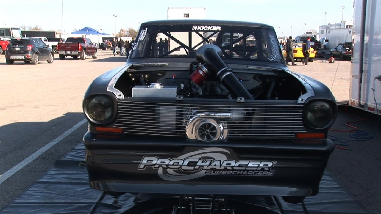 DADDY DAVEs NEW PROCHARGER Redemption No Prep YouTube - Dave's cool cars