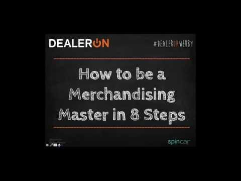 How to be a Merchandising Master in 8 Steps