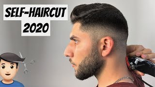 The BEST Self-Haircut During Quarantine 2020 | How To Cut Your Own Hair