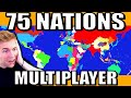 Gambar cover Every Country Controlled by a Player! Massive HOI4 Multiplayer