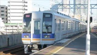 【通過する回送列車】南海新今宮駅にて
