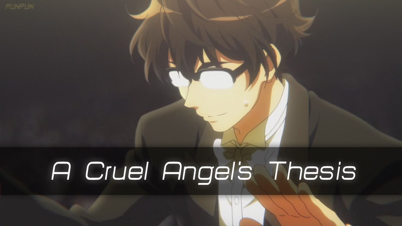thesis of a cruel angel youtube