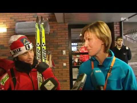 Marit Bjørgen - Exclusive Interview: Marit Bjørgen vs Bente Skari