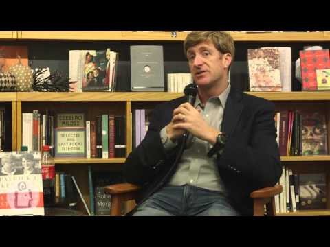 Patrick Kennedy in conversation with Steve Scher at University Book Store - Seattle