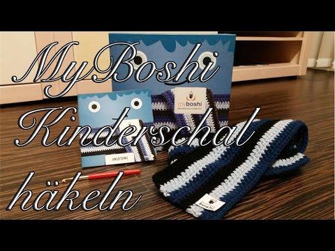 Myboshi Kinderschal Häkeln Anleitung Youtube