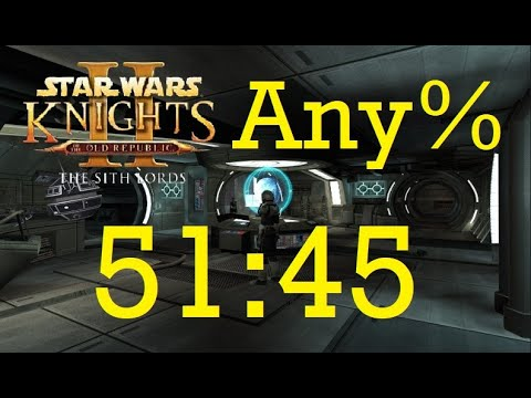 Knights of the Old Republic 2: The Sith Lords - Any% Speedrun in 51:45 [World Record]