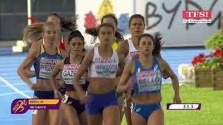2017 - 800m - U23 European Athletics Championships Bydgoszcz