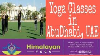 Himalayan Yoga | Yoga Center in Abu Dhabi | Yoga Class | Dashing Dubai