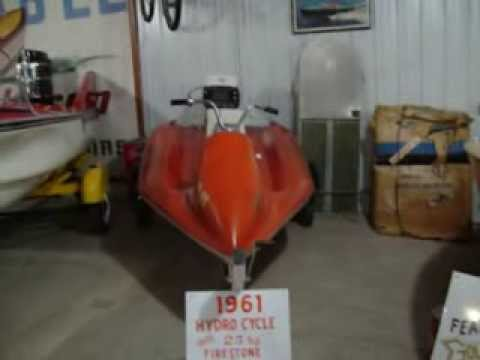1961 Hydro Cycle and 1958 Crestliner Jetstrunk
