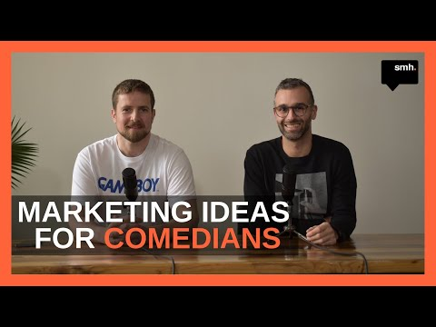 Marketing Ideas For Comedians And Comedy Writers With Christophe Davidson - Content Sessions #13