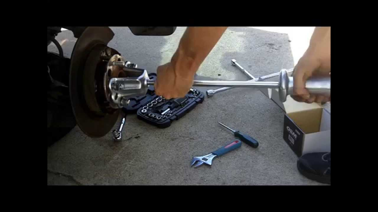 honda cr v wheel hub bearing replacement diy cheap 2006 [ 1280 x 720 Pixel ]