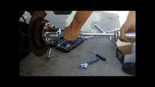 Honda CR-V Wheel Hub Bearing Replacement DIY Cheap 2006