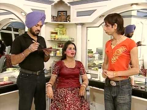 Ghuggi Set's Up A Beauty Parlour