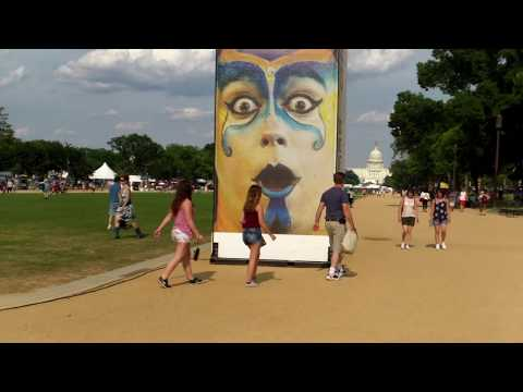 Circus Arts -At The Smithsonian Folklife Festival 2017 - Washington DC - 6/29/2017.