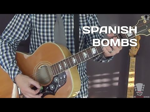 How to Play Spanish Bombs by The Clash - Guitar Lesson