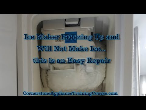 Samsung french door refrigerator ice maker issues