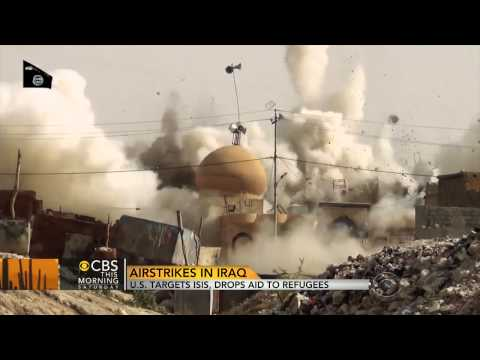 American forces continue airstrikes in Iraq