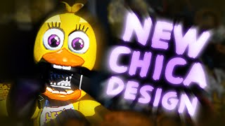 New Withered Chica! || Five Nights At Freddy