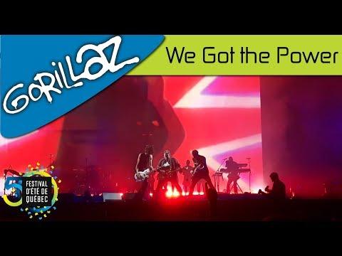 Gorillaz - We Got the Power | Live; Festival d'été de Québec (15-07-2017)