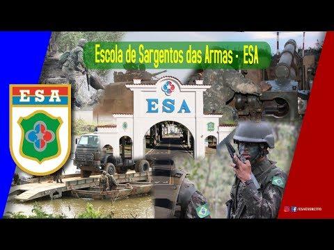 Vídeo Institucional da Escola de Sargentos das Armas ESA 2018 (Oficial)