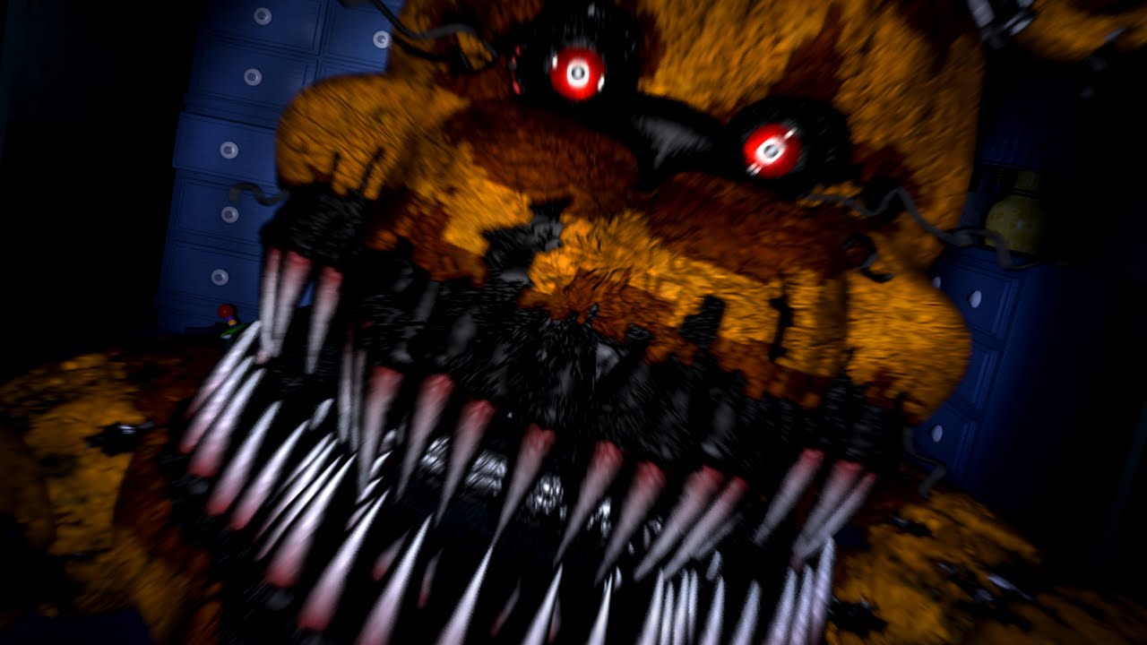 five nights at freddy s 4 night 5 ending bite of 87 revealed youtube
