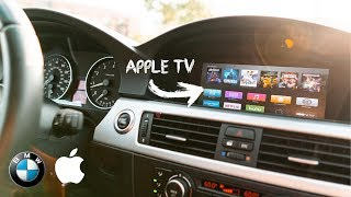 THE COOLEST BMW MOD | Apple TV + Backup Camera