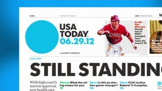 USA TODAY redesign: A look at the #newusatoday