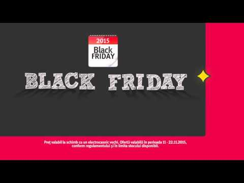 Reclama Altex Black Friday Masina de Spalat Indesit