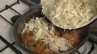 Как тушить капусту Тушим капусту с мясом Тушим капусту  на сковороде Бигус