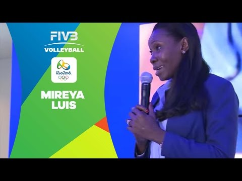 Mireya Luis launches her book at FIVB Volleyball House