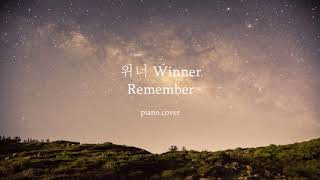 Remember - Winner / Remember - 위너 Piano cover
