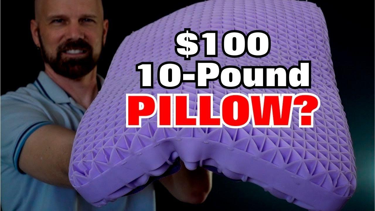 purple pillow review a 10 pound 100 pillow