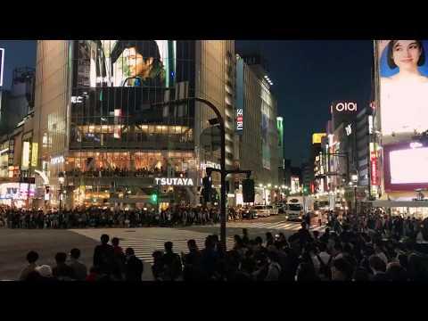 涉谷十字路口 Tokyo Shibuya crossroad
